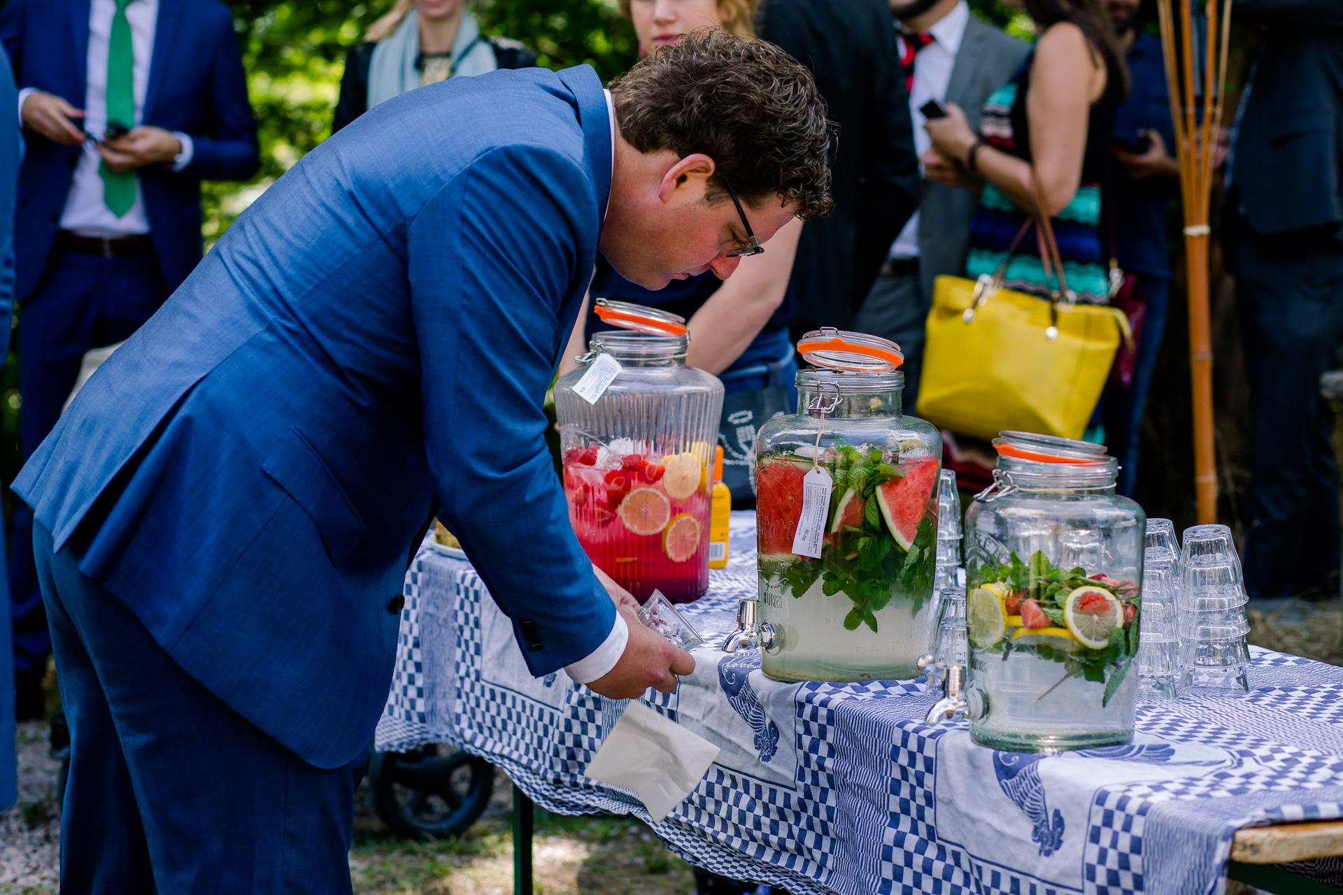 Limonadebar op je bruiloft
