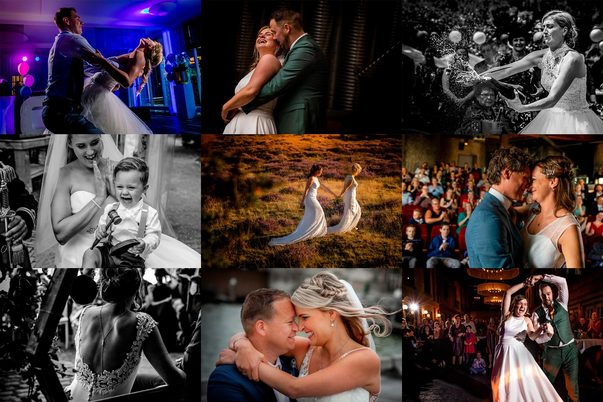 De mooiste trouwfotos van 2019