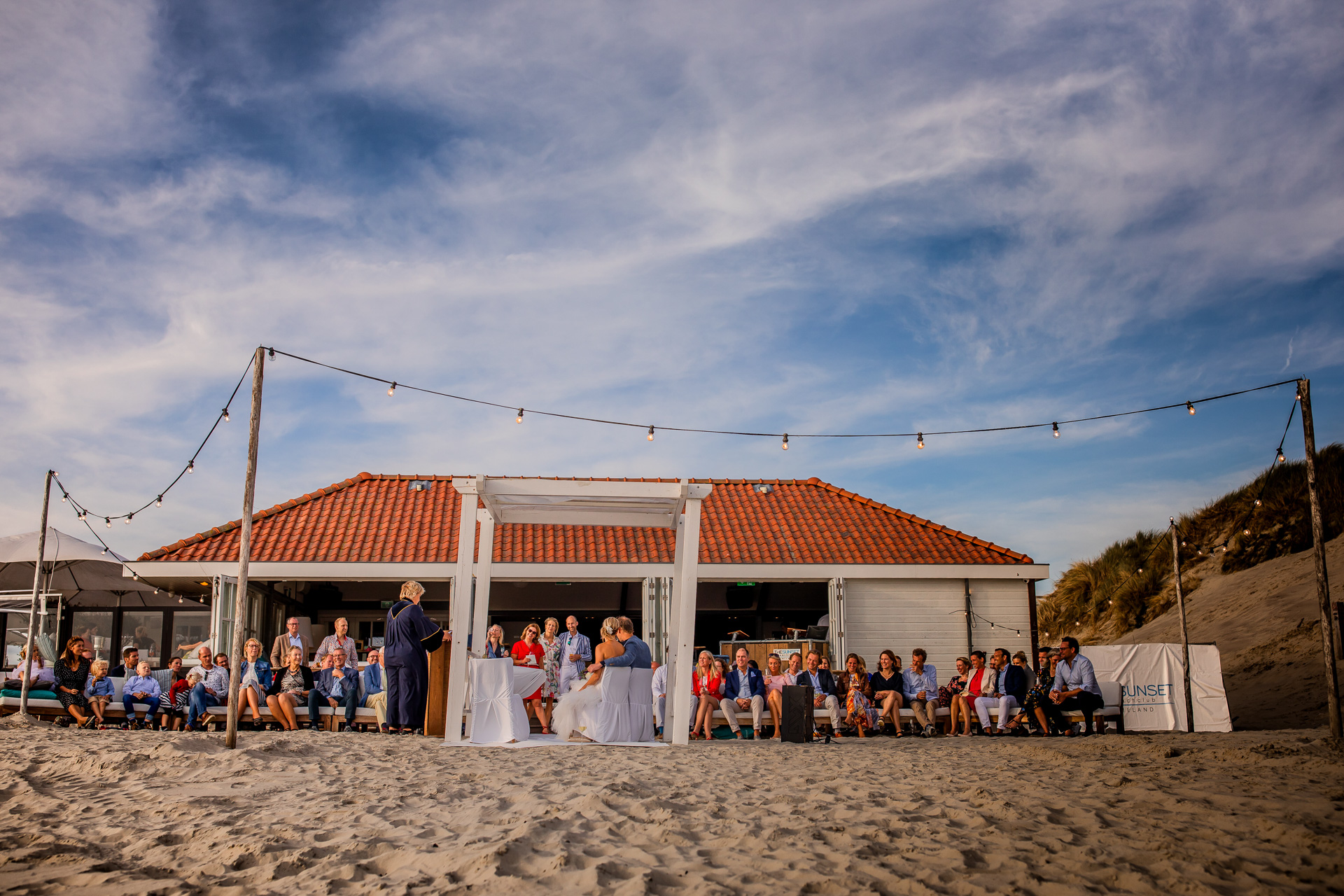 Trouwen op Ameland Beachclub the Sunset
