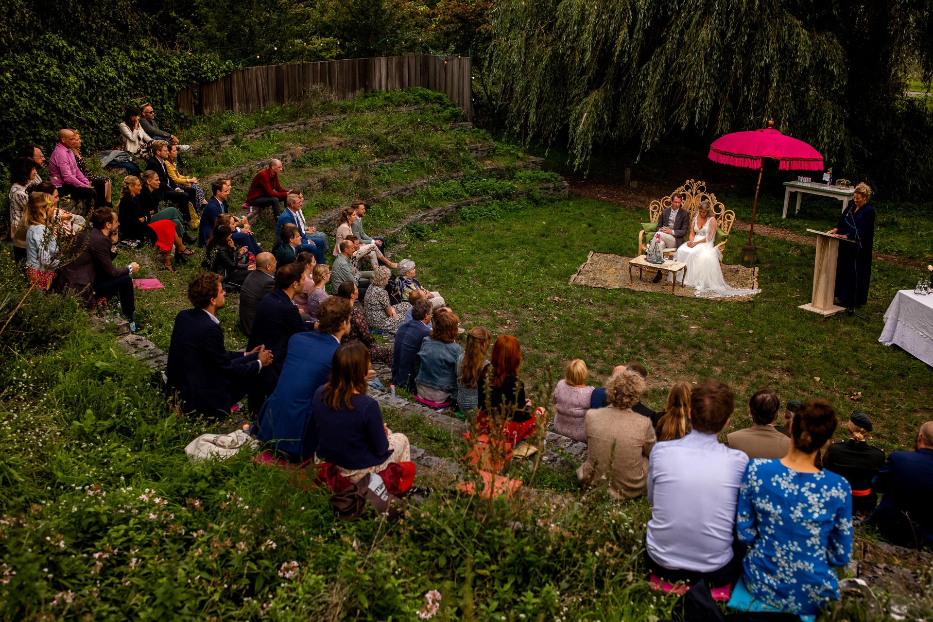 Bruiloft in coronatijd